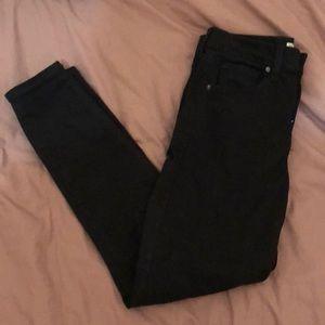 Topshop Jamie Jeans in Black